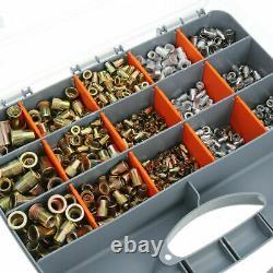 1015PCS Nuts or Rivet Gun Kit Rivnut Thread Setting Tool Nut Setter NutSert SAE