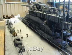 135 Dora Railway Gun WWII German (Model Kit)