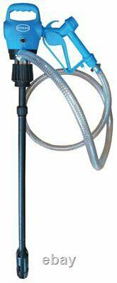 240V/12V Electric AdBlue Transfer Pump Kit 200/205 Litre Drum Barrel Trigger Gun