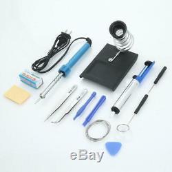 30W 110V 14in1 Soldering Iron Kit Electrical Welding Tool Gun Set Solder Iron