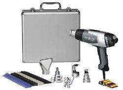 34859 (110051541) Steinel Silver Anniversary Heat Gun Kit withNEW HL2020E Heat Gun