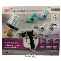 3M Accuspray ONE Spray Gun System Kit with Standard PPS 16580 Paint Equipment