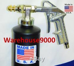 5 GALLON PAIL FLUID FILM NAS & PRO Spray Gun Kit with 200 rust plugs 5 Pair Gloves