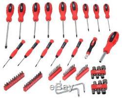 77PC Power Air Gun Tool Wrench Grinder Hammer Socket Kit + 80pc Screwdriver Set