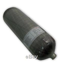 Acecare PCP Gun 9L CE 4500psi Carbon Fiber Air Tank Scuba Cylinder Filling Kits