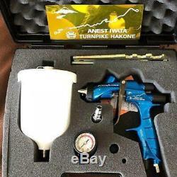 Anest Iwata Limited Edition Blue Turnpike Hakone WS400 1.3 Evo Spray Gun Kit