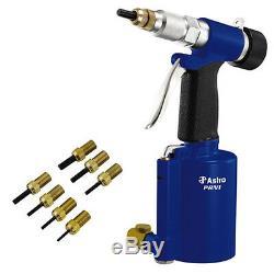 Astro Pneumatic Air Gun Drill Kit PRN1 3/8 Capacity Rivet Nut Setting Tool