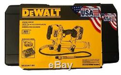 BRAND NEW DEWALT DCGG571M1 20V 20 Volt MAX Lithium-Ion Grease Gun Kit