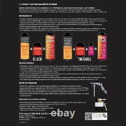 Battleship Dark Gray Urethane Spray-On Truck Bed Liner, 1.5 Gal Kit Spray Gun