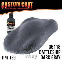 Battleship Dark Gray Urethane Spray-On Truck Bed Liner, 2 Gal Kit with Spray Gun