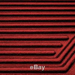 Bed Liner BLOOD RED 0.875 Gallon Urethane Spray-On Truck Kit with Spray Gun