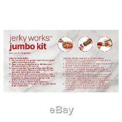 Beef Jerky Maker Homemade Commercial Meat Gun Kitchen Work Jumbo Seasoning Kit