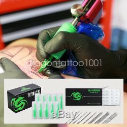 Beginner Tattoo Kit 4 Machine Gun 40 color Ink Power supply needle Grip Tip Set