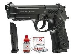 Beretta 92A1 CO2 Full Auto BB Air Pistol Gun Combo. 177 Caliber Full Metal