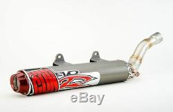 Big Gun EVO R Exhaust Pipe Muffler Slip On & Jet Kit Yamaha YFZ 450 2006 2009