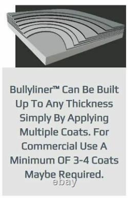 BullyLiner Rubber Bed Liner KIT (4) 1 Litre Bottles & Spray Gun (1 Gallon)
