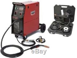 Century Lincoln K2783-1 Wire Feed Mig Welder 255 Amp w Spool Gun Kit K2532-1
