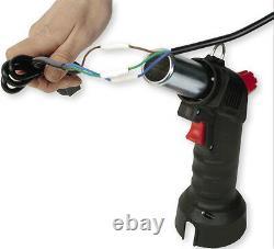 Cordless Hot Air Heat Gun Tool Kit Hands Free With 2 Nozzles & Gas Cartridge