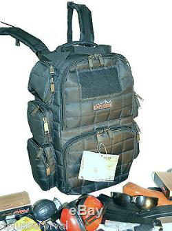 Coyote Brown Explorer Tactical Range Backpack Gun Pistol Survival Emergency Kit
