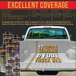 Custom Coat Bright White 2 Gal Urethane Spray-On Truck Bed Liner Kit Spray Gun