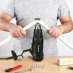 DEKO 2000W Heat Gun Hot Air Gun Kit Variable Temperature Control Power Tool