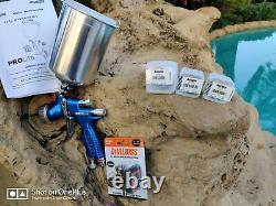 DEVILBISS 905043 Prolite Gravity HE TE10 TE20 1.2 1.3 1.4 Spray Gun Kit with Cup