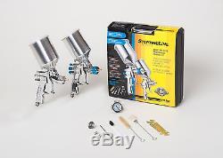 DEVILBISS Spray Paint Gun Kit 802343 HVLP 2 FULL SIZE Guns NEW