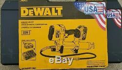 DEWALT 20V MAX DCGG571M1 GREASE GUN KIT New 2020 datecode