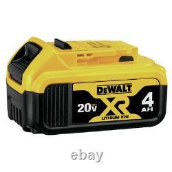 DEWALT DCF620CM2 20V MAX XR Drywall Screw Gun with Attachment Kit (4 Ah) New