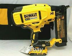 DEWALT DCN680D1 20V MAX Li-Ion XR 18 GA Cordless Brad Nailer Naiul Gun Kit JK011