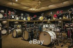 DW Drums sets Maple Drum Workshop Collector's Gun Metal Sparkle Glass 5pc kit