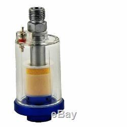 DeVilbiss FLG-G5 1.3mm Paint Spray Gun with Air Filter/Regulator/Cleaning Kit