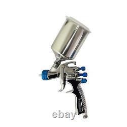 DeVilbiss SLG-650 Gravity Fed Compliant & HVLP Spray Guns + Guage & Cleaning Kit