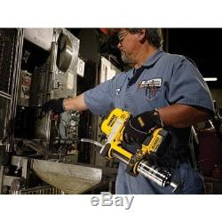 DeWALT DCGG571M1 20V MAX Lithium Ion Automatic 42 Grease Gun Tool Kit