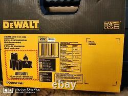 DeWalt 20V Variable Speed Max Lithium Ion Grease Gun Tool Kit DCGG571M1 2020