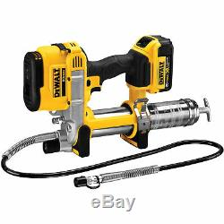 DeWalt DCGG571M1 42 20V Variable Speed Max Lithium Ion Grease Gun Tool Kit