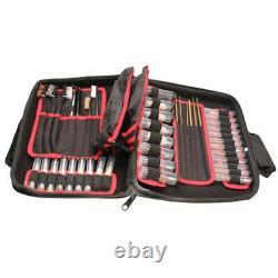 Deluxe Universal Gun Cleaning Kit Rifle Shotgun Pistol Clean Set Care Case 68 Pc