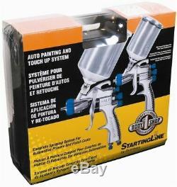 Devilbiss 802342 Starting Line Spray Gun Kit NEW