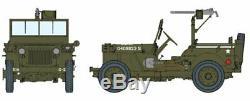Dragon 1/6 Scale 12 WWII 1/4 Ton 4x4 Truck with. 30 Cal Machine Gun Kit 75050 New