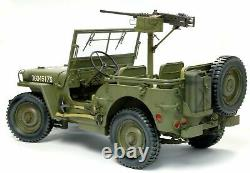 Dragon 75052 1/6 Assembled US Willis Jeep Truck With50 Caliber M2 Gun Model Toy