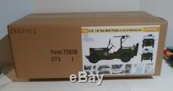 Dragon Models 1/6 scale kit 75050, U. S. 1/4 ton 4x4 truck with. 30cal. Machine gun