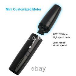 Dragonhawk Mast Tattoo Machine Gun Set Kit Motor Rotary Makeup Pen Power Needle