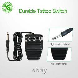 Dragonhawk Mast Tattoo Machine Gun Set Kit Motor Rotary Makeup Pen Power Needles