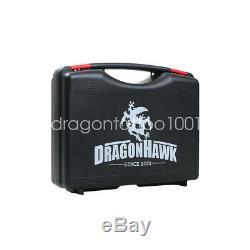 Dragonhawk TOP Tattoo Kit Motor Pen Machine Gun Color Inks Power Supply Needles