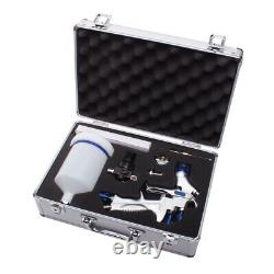 Eastwood Concours 2 HVLP Paint Gun Kit Highly Durable Lightweight Alloy Body