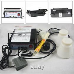 Electric Powder Coating System, Auto Body Portable Coat Machine Paint Gun Kit USA