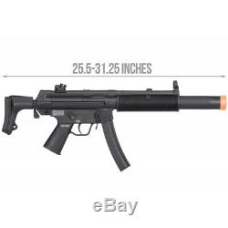 Elite Force H&K Competition Kit MP5 SD6 SMG Airsoft AEG by Umarex BLACK