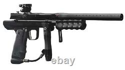 Empire Sniper Pump Paintball Gun Marker Dust Black Polished with Barrel Kit NEW