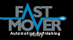 Fast Mover 3 Spray Gun Kit & Accessories in Case Deal Gravity Fed FMT4011
