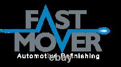 Fast Mover Tools / Starchem Twin Automotive Spray Gun Kit Gravity Feed FMT4005